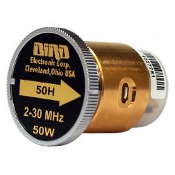 BIRD50H-1 - Bird element 2-30 mhz 50w (Clean used condition)