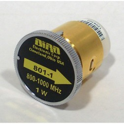 BIRD801-1 Bird wattmeter element, 800-1000 MHz, 1 watt  Bird,