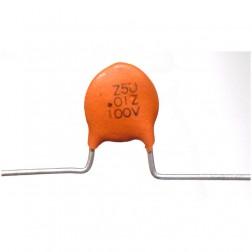 C103-100 Capacitor, disk .01uf 100v