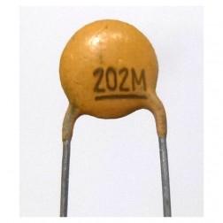C202-100 Capacitor, disk .002uf 100v