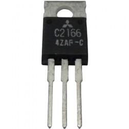 2SC2166C NPN Epitaxial Planar RF Transistor, 27 MHz, 12 V, 6W, Mitsubishi
