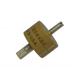 C500-12.5KV Doorknob Capacitor, 500pf 12.5kv, : Centralab