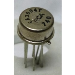 CA3094T 8 pin, 30MHz, High Output Current Operational Transconductance Amplifier (OTA), RCA