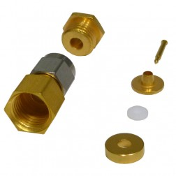 CAO-101-0-02 Connector, SMA Male clamp, HHS
