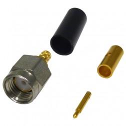 CAO-102-0-01 Connector, SMA Male Crimp, Cable Group: B, HH Smith