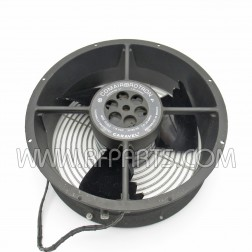 CL2L2 Comair Rotron Caravel Axial Fan 1650 RPM 560CFM 1.0-0.88 Amps 36 Watts 115 VAC 60/50 Hz (Used)