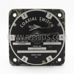 C0N6AB Transco 6 Position Coaxial Switch Type N Female (Pull)
