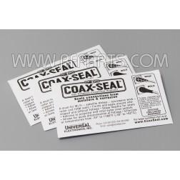 CS101 Coax Seal - 500 1/2 inch x 10 inch Strips