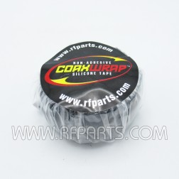 CW10 Black Silicone 1 inch x 10 feet WeatherProofing Tape