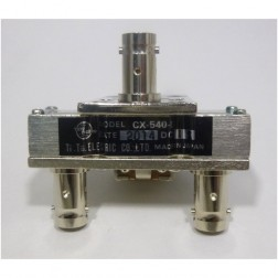 CX540D-24  Coaxial relay, SPDT, BNC Female, 24v, Tohtsu