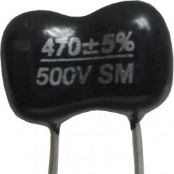 DM15-470 - 470pf Mica Capacitor