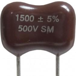DM19-1500 - 1500pf Mica Capacitor