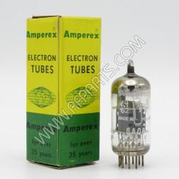 ECC85 / 6AQ8 Amperex Double Triode Tube (NOS)