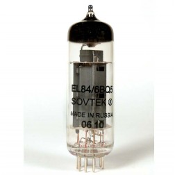 6BQ5/EL84 Audio  Tube,  Beam Power Amplifier,Sovtek (Russian)