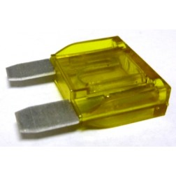 FUSE-LGBLD20 Fuse, large blade, yellow, 20 amp