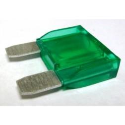 FUSE-LGBLD30 Fuse-large blade, green. 30 amp,