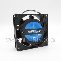 G8025-A1 Therm-O-Cool AC Box Fan 0.16 Amps 12 Watts 19/23 cfm