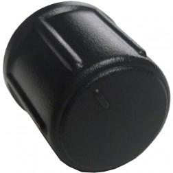 GALXKNOB19 - Galaxy Medium Black Round Replacement Knob