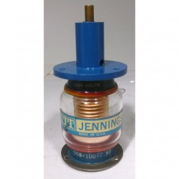 GCS-100-7.5S Vacuum Variable Capacitor, 5-100pf, 7.5kv Peak, Jennings (Clean Used)
