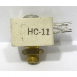 HC11  Trimmer Capacitor, compression mica, 650-3300 pf