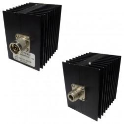 HFP560/30  Fixed Attenuator, 60 watt, 30dB, Type-N Male/Female, Trilithic (Clean Used)