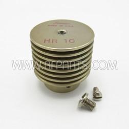 HR-10 Eimac Heat-Dissipating Connector Top Cap (NOS)