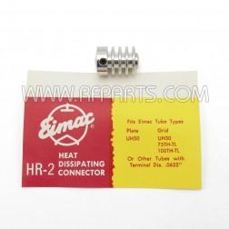 HR-2 Eimac Heat-Dissipating Connector Top Cap (NOS)