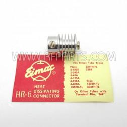 HR-6 Eimac Heat-Dissipating Connector Top Cap (NOS)