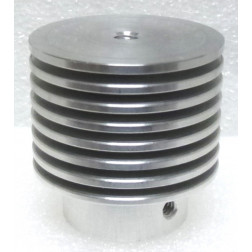 HR7  Plate Cap / Anode Heat Radiator for 304TL or 304TH, Eimac (NOS)
