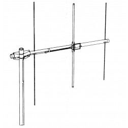 203S - 2 Meter / 3 Element Yagi Beam Antenna, Telex / Hy-Gain