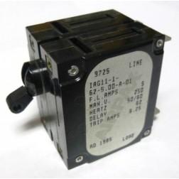 IAG11-1-62-5 Circuit Breaker, Dual AC, 5a, Airpax