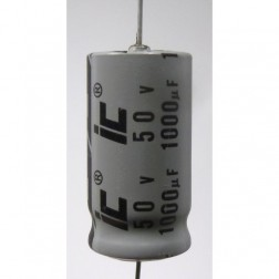 IC1000-50 Capacitor 1000uf 50v axial, IC