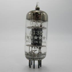 6135  Tube, Medium Mu Triode, 6C4 / 6135 (5 Star), GE