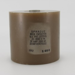 385MF103X2802S1, Capacitance .01mfd, Voltage 8kv, Amps 39, Type 385 (NOS)