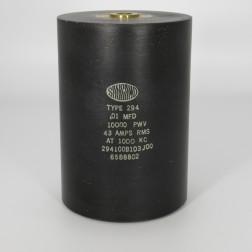 294100B103J00, Capacitance .01mfd, Voltage 10kv, Amps 43, Type 294(NOS)