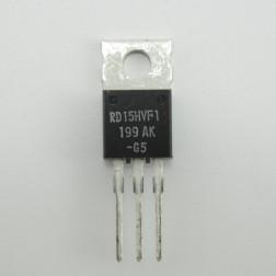 RD15HVF1 Mitsubishi MOSFET, RF Power Transistor 175 MHz 15W