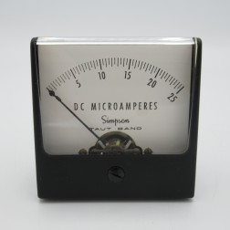 1227-MA25 Simpson 0-25ma DC Meter Movement (NOS)