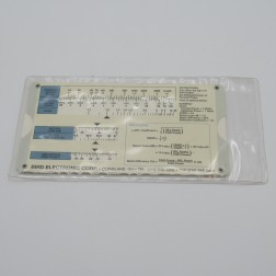 4400-SR  VSWR Slide Rule, Forward vs. Reflected Power, Vintage, Bird Electronics (NOS)
