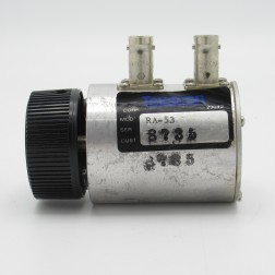 RA-53 Texscan 0-1dB 1GHz Variable Attenuator With BNC Female Connectors (Used)