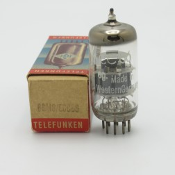 6GM8/ECC86  Telefunken  Twin Triode Audio Tube, (NOS)