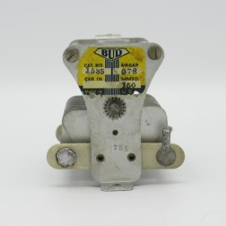1535  Bud Capacitor, 20-150pf,  2.5kv, 29 plates, Spacing: 0.078 (PULL)