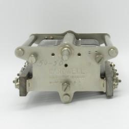 VC50  Cardwell Capacitor, 17-50pf 3kv 22 plates, Spacing: 0.165 (PULL)