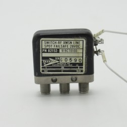 82152-919C70100 Transco Coax Relay, SPDT, 28vdc, SMA Female (Used Great Condition)