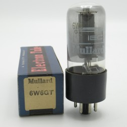 6W6GT/6DG6GT Mullard Audio Frequency Power Output Valve (NOS)