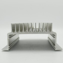 "HSALUMU7.5-2.75 Heat sink, 6.25"" x 7.5"" x 2.75"" Aluminum U-Shaped"