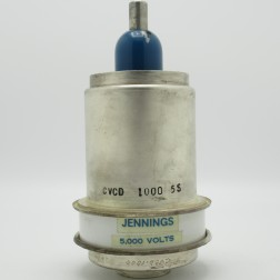 CVCD-1000-5S Jennings 10-1000pF 5KV Variable Vacuum Capacitor (Used Great Condition)
