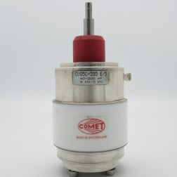 CV05C-200E/5 Comet 5KV 40-200pf Vacuum Variable Capacitor (Used Excellent Condition)