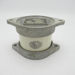 G2B Sangamo Mica Capacitor, Type:G2B, .006mfd, 5kv, 21 Amps, (Pull)