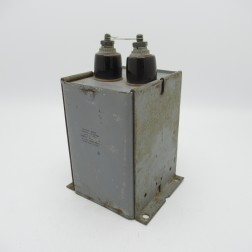 23F50 General Electric Oil-filled Pyranol Capacitor 2 MUF 5000vdc (Pull)