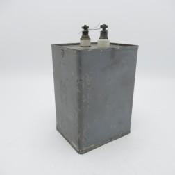25F820-G2  General Electric Pyranol Capacitor , 10mfd,  2.5kv DC. (Pull)